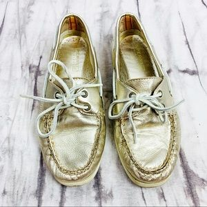 Sperry Top-Sider for J.Crew Metallic Boat Shoes